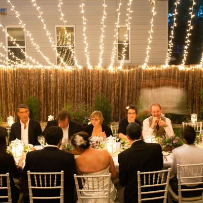 A Backyard Wedding for Bailey and Max
