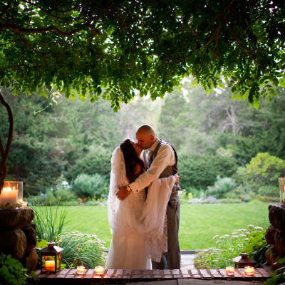 Jennifer and Leo's wedding at the Habitat Wildlife Sanctuary, Belmont