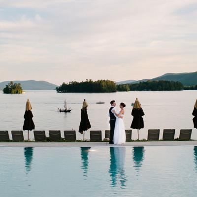 Wedding on Lake George, NY