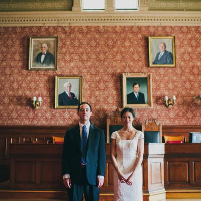 Cambridge City Hall Wedding