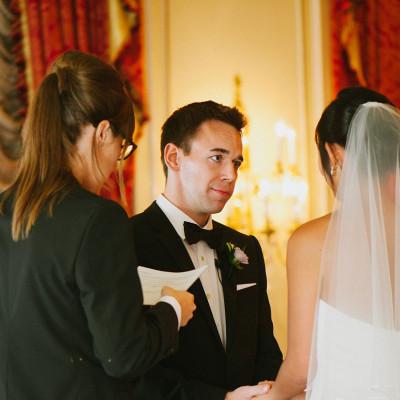 Nina & Ken's wedding at the Taj Boston