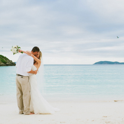 Lindsey & Matt's Destination Wedding on St. John USVI