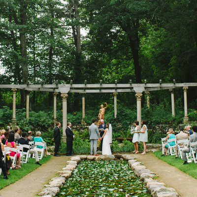 Codman Estate Wedding for Molly & Roc