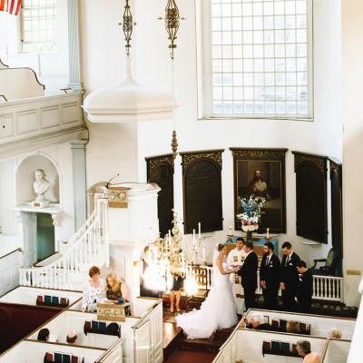 Old North Church Wedding for Amanda & Bryce