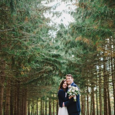 A Fall Wedding at Whispering Pines