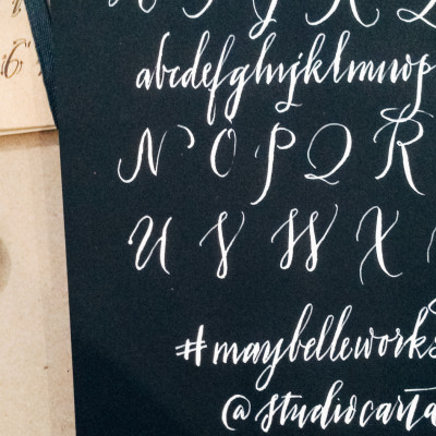 Maybelle Calligraphy Workshop