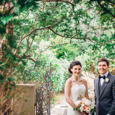A Foodie Wedding at the Belmont Wildlife Sanctuary