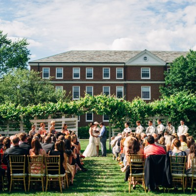 Wedding at the Commander's Mansion in Watertown