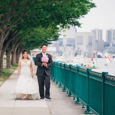 Myha + Will's Wedding at the Cyclorama, Boston
