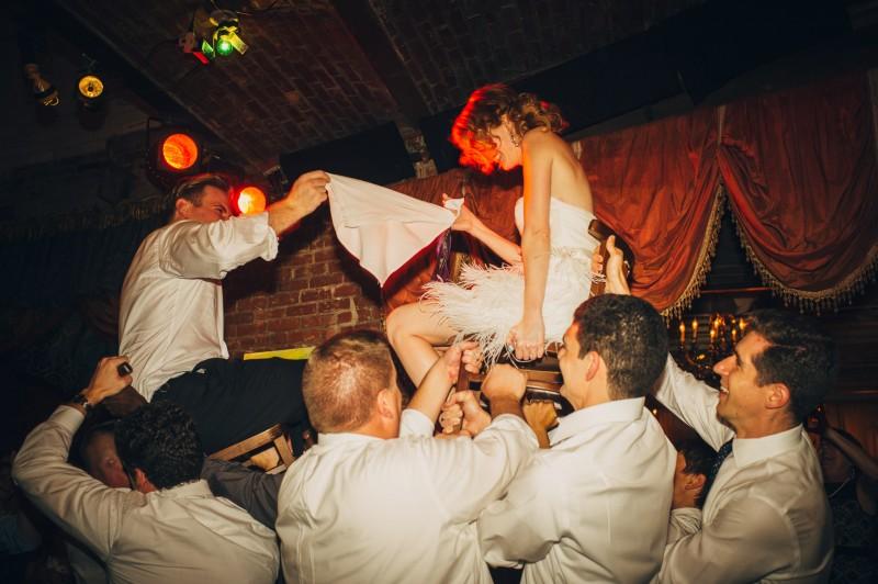 Beehive Wedding by Fat Orange Cat Studio