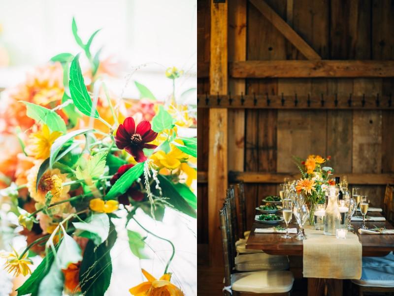 Barn at Flanagan Farm Wedding © Li Ward, Fat Orange Cat Studio