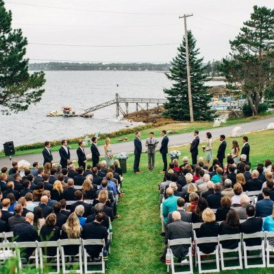 Spruce Point Inn Wedding in Boothbay Harbor, Maine // Cub & Chris
