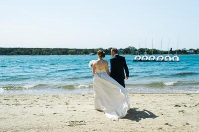 Oak Bluffs Wedding at the Sailing Camp // Carolyn + Rob
