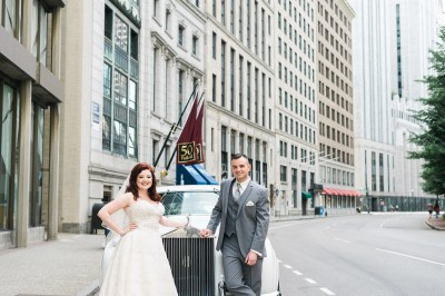 Boston College Club Wedding // Amber + Tim