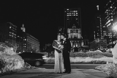 Boston Public Library Wedding. Or, Last Year's Febuary
