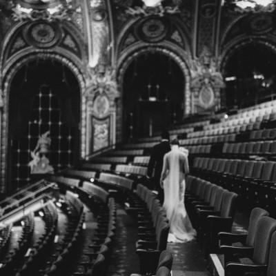Wedding at the Wang Theatre // Alyssa + Vijay