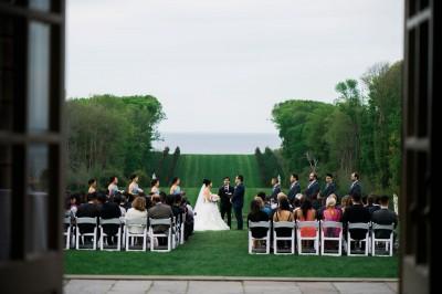 Crane Estate Wedding // Lisa + Miller