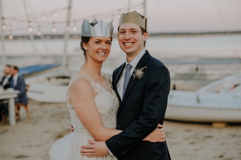 33_KateGreg_621_byLiWard_paper-hats_wedding_chequessett